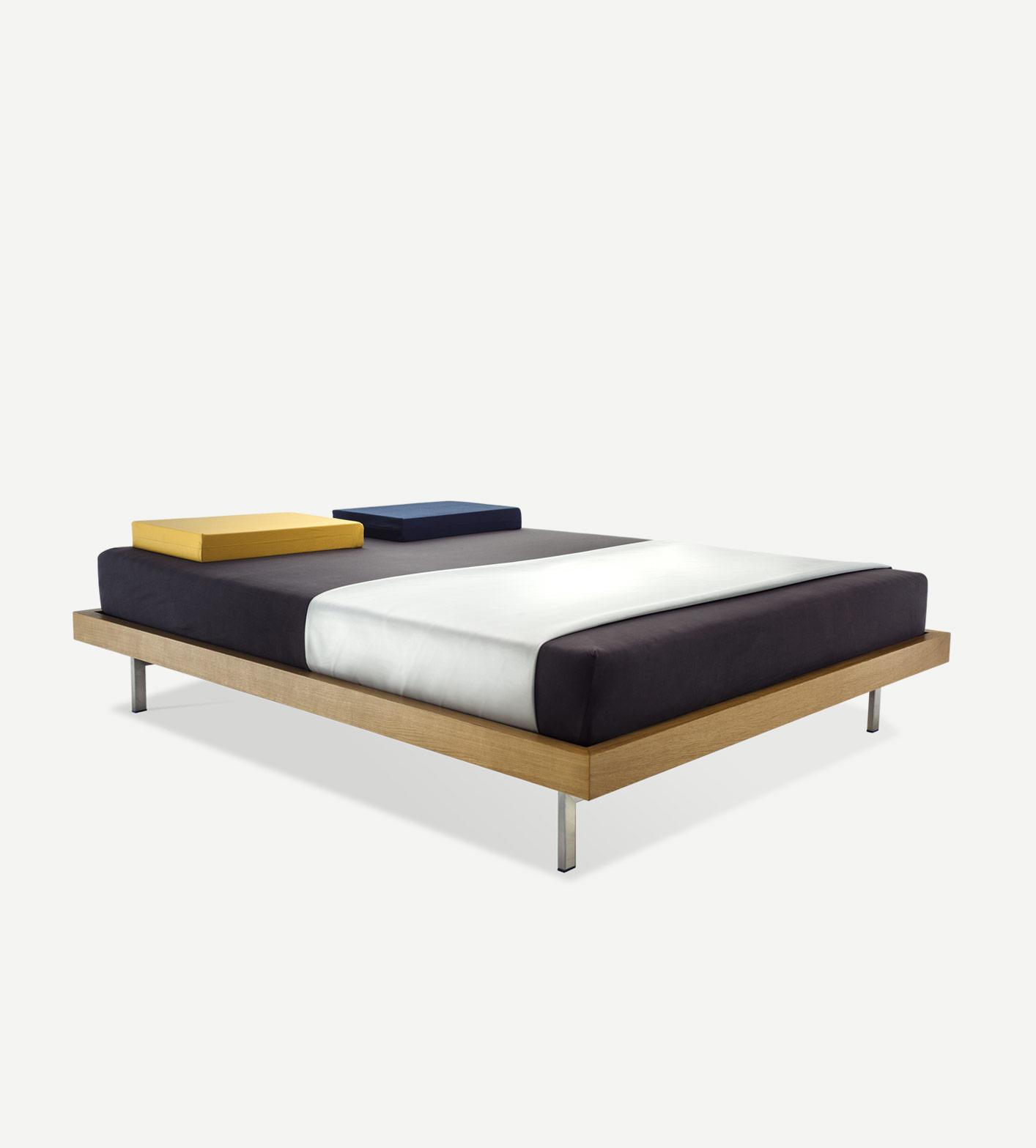 Technische Zeichnung Bett bett typ 1 tagesbett oder doppelbett massivholzrahmen aus eiche